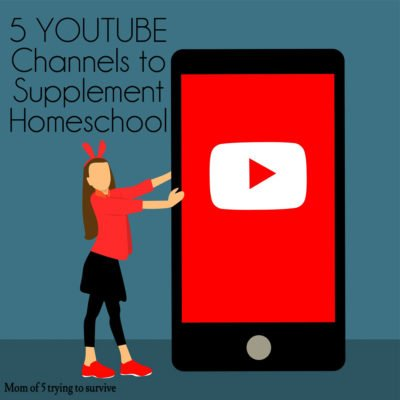 5 Youtube channels to supplement homeschooling