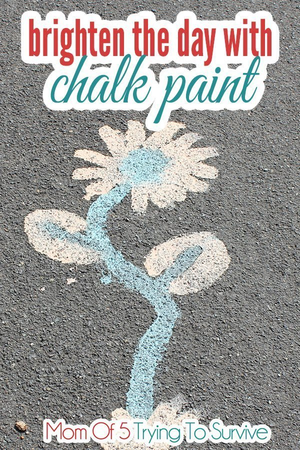 brighten the day with sidewalk chalk paint quotes