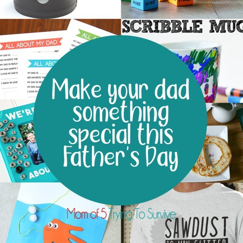 Here is a list of diy father's day gifts you can make to show dad you appreciation.