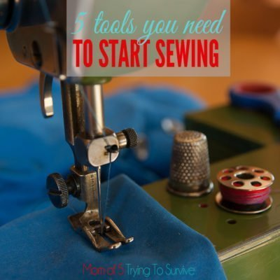 sewing tools needed for beginner sewers