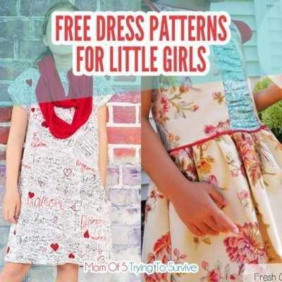 List of 10 free girls dress patterns