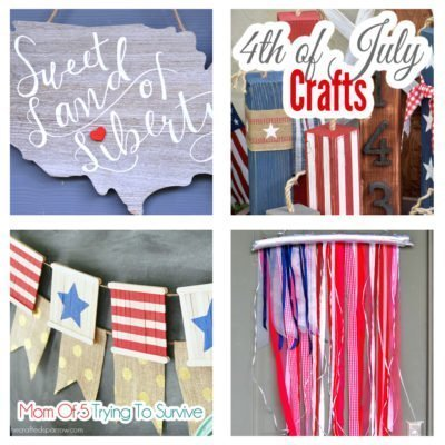 4th of july crafts and home decor projects