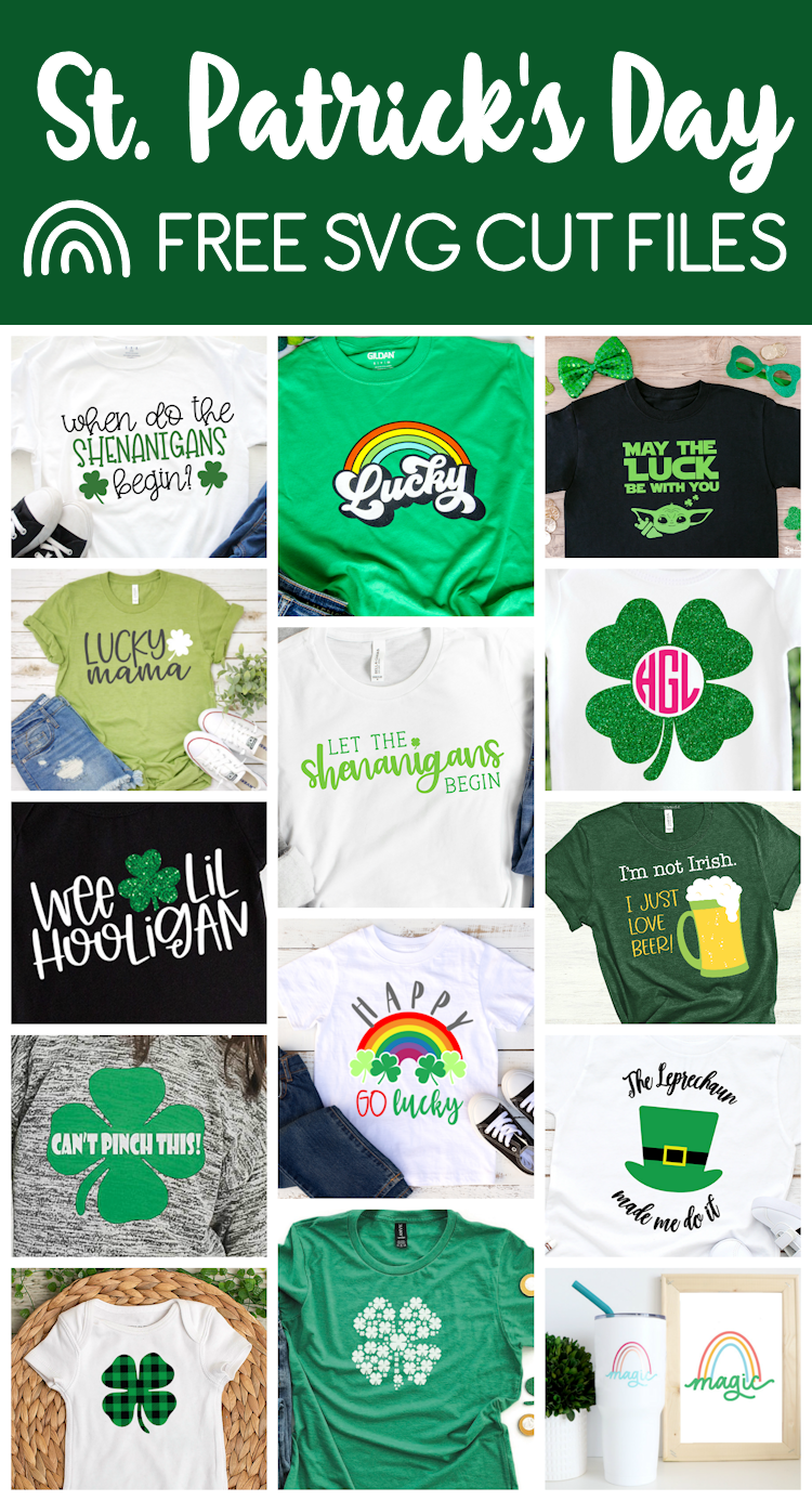 mock ups of st patrick's day svg files