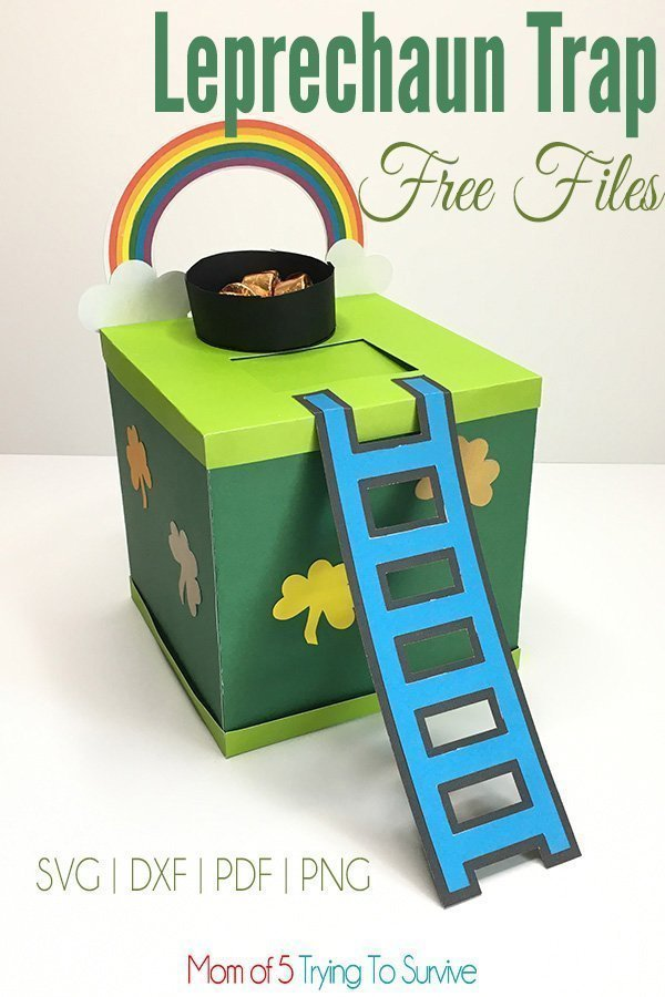 Catch the Leprechaun this year with a stylish Leprechaun Trap that he can't resist.