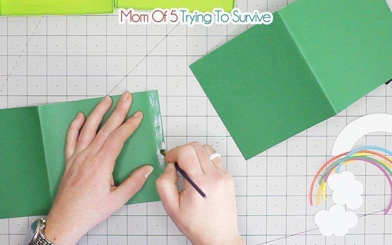 glue sides of box together