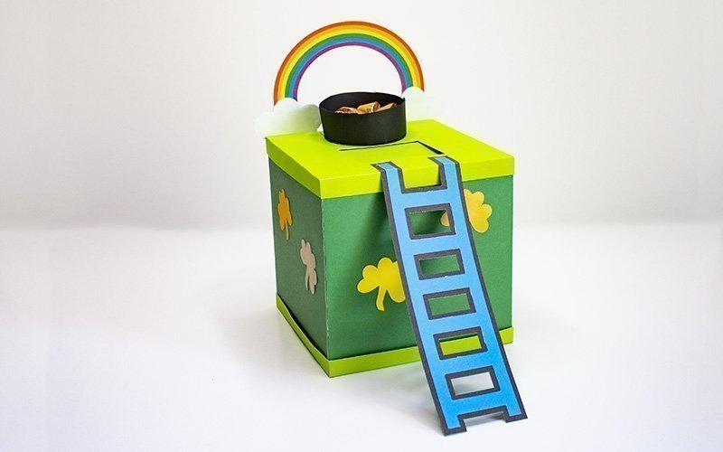 assembled leprechaun trap