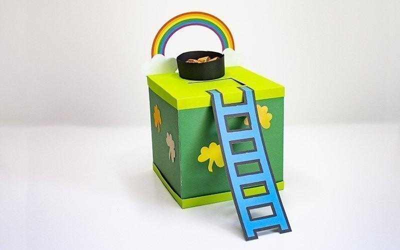 assembled leprechaun trap