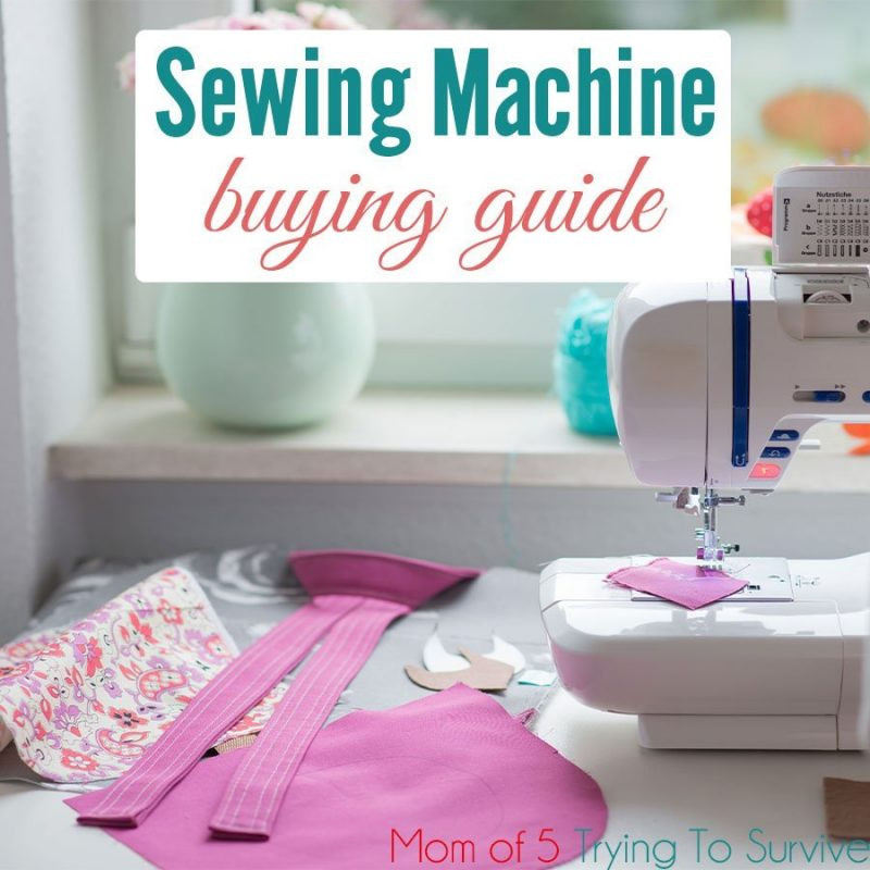 sewing machine buying guide