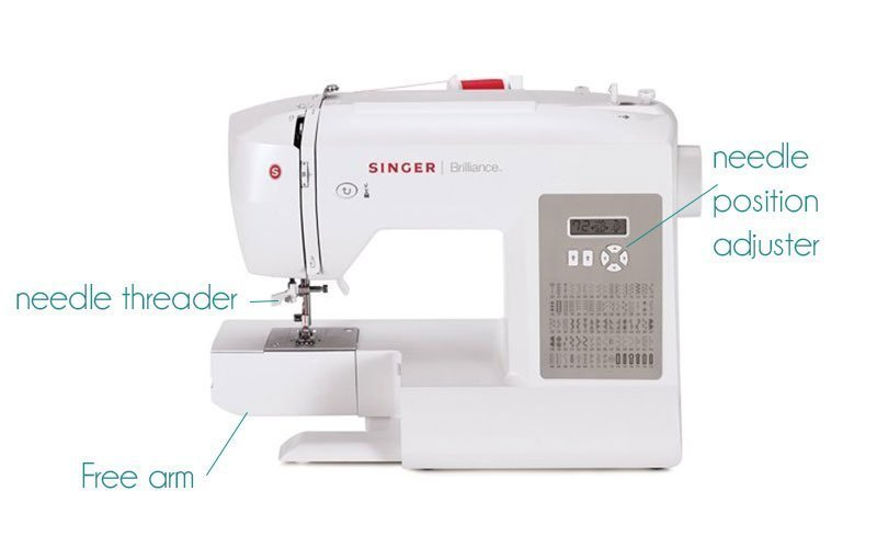 special features of sewing machine