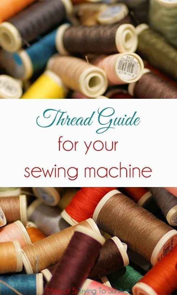 pile of thread spools