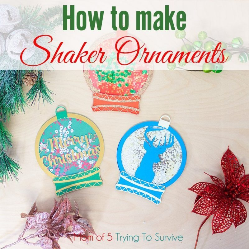 How to make shaker ornaments