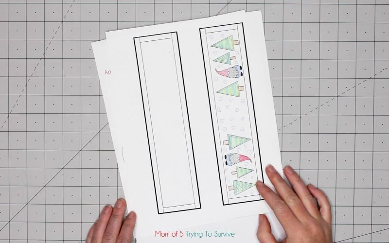 table runner planning page